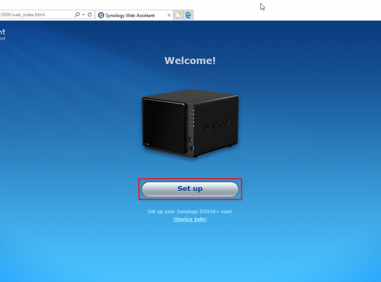installation nas synology ds218